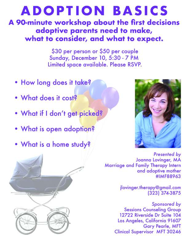 adoption basics flyer
