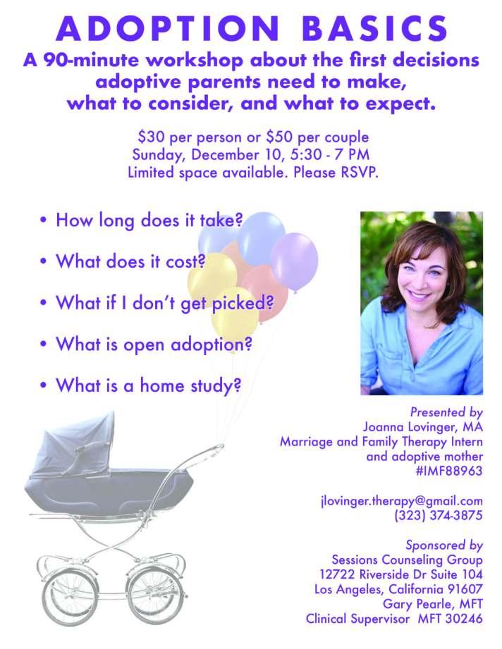 adoption basics flyer
